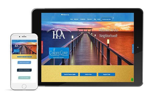 Colony Cove HOA Website